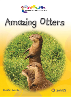 Cover of a children's book called Amazing Otters