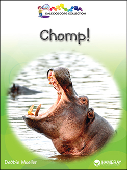 Cover of a children's book titled Chomp