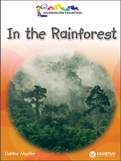 Cover of a children's book titled In the Rainforest